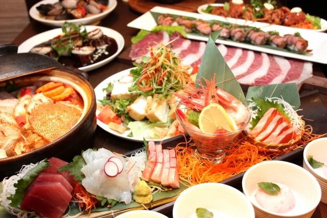 肉と魚を一緒に食べる